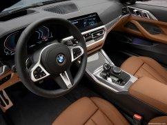 BMW Série 4 coupé 2021 habitacle