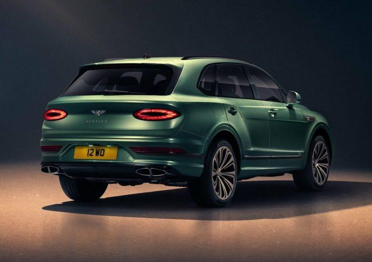 Bentley Bentayga 2021 vue arrière