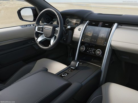 Land Rover Discovery 2021 habitacle