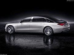 Mercedes Maybach Classe S 2021 noire et blanche