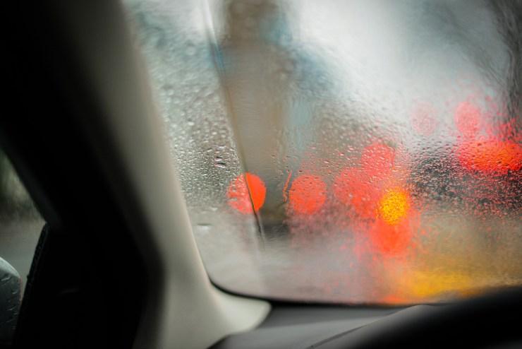 buée vitre voiture