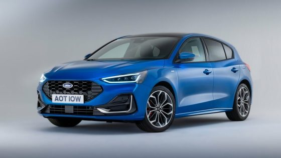 nouvelle Ford Focus 2022 micro hybride
