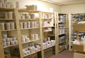 Monave stockroom