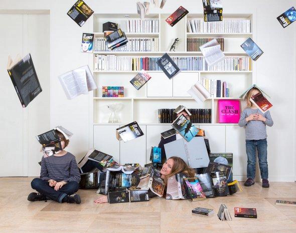 Le photographe Olivier Boulet de Portrait de famille réalise des photo de famille originale