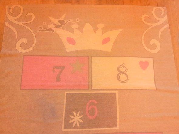 Chambre de princesse mon blog de maman - Tapis marelle maison du monde ...