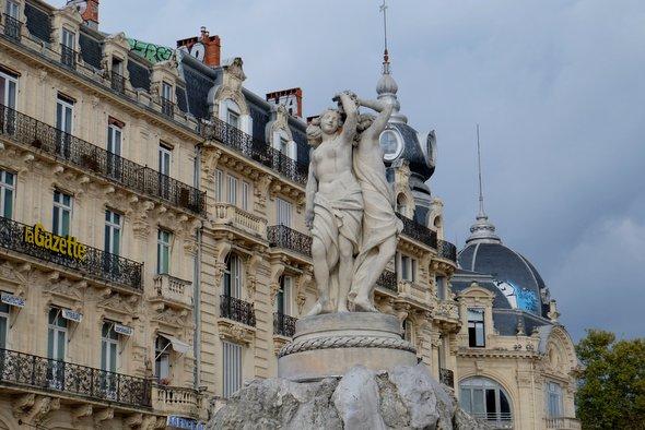 montpellier-statue