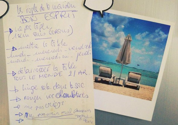 Les Regles De La Maison Mon Blog De Maman
