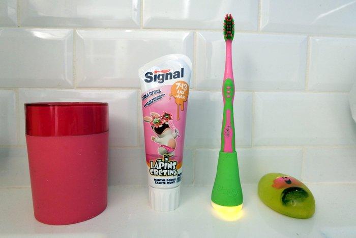 Signal Playbrush ou comment se brosser les dents devient amusant