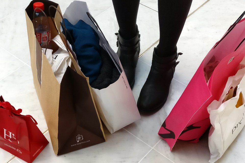 Mes astuces pour faire son shopping à Parly 2