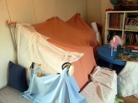 L'histoire de la cabane au fond de la chambre