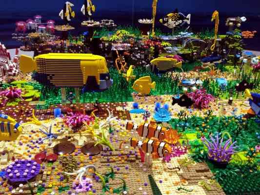 On  a vu l'Expo ciné-Lego à Versailles