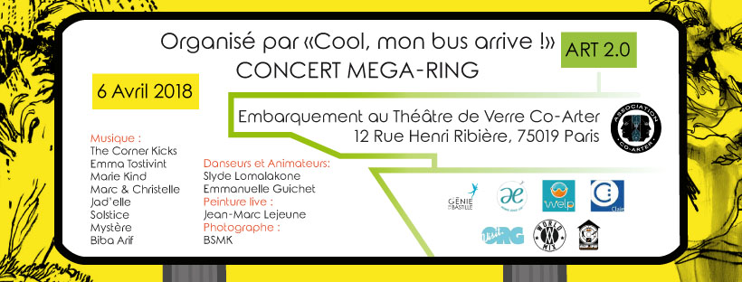 Art 2.0 – Concert « Méga ring »