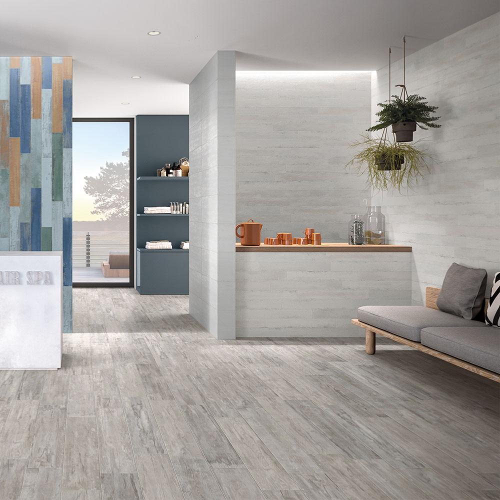 carrelage sol salle de bain imitation bois 20x100 metrochic pav naturel collection flair naxos