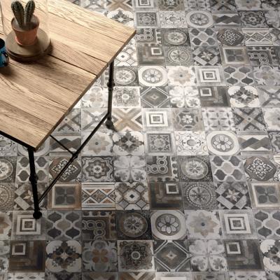 carrelage sol et mur decor imitation carreaux de ciment 20x20 miami mix nat collection miami cir