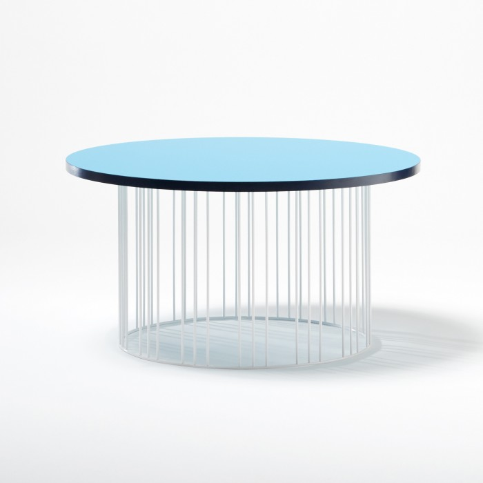 table basse circus bleu colonel