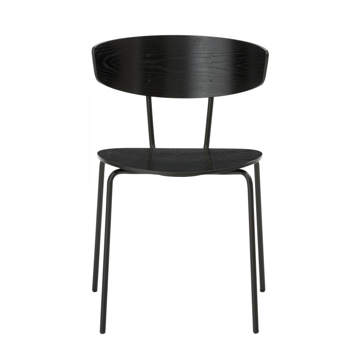 Herman black chair - Ferm Living at COLONEL shop