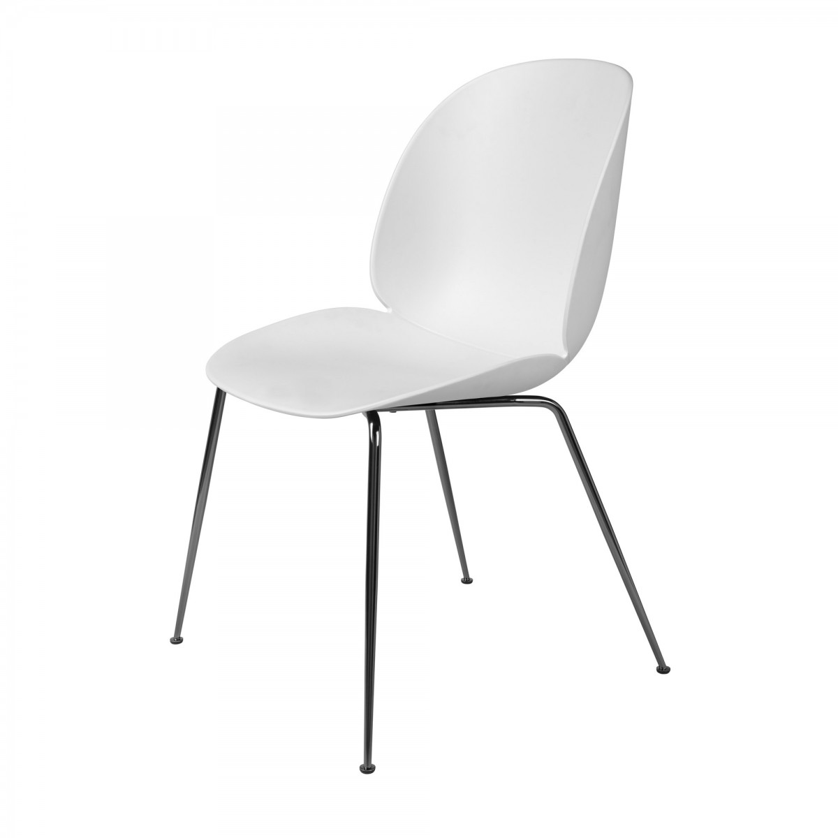 black white dining chair doc mcstuffin beetle and metal gubi