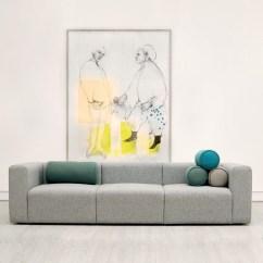 Hay Sofa Kvadrat Wood Set Under 10000 Modular Mags 3 Seaters With Fabric