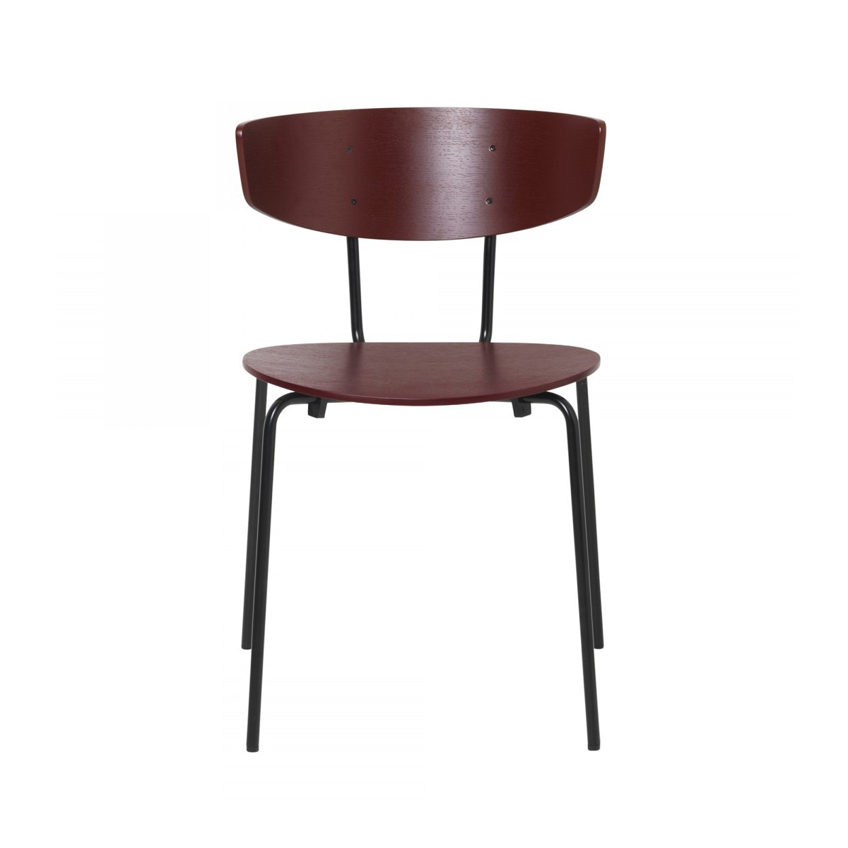 HERMAN burgundy chair - Ferm Living at COLONEL shop