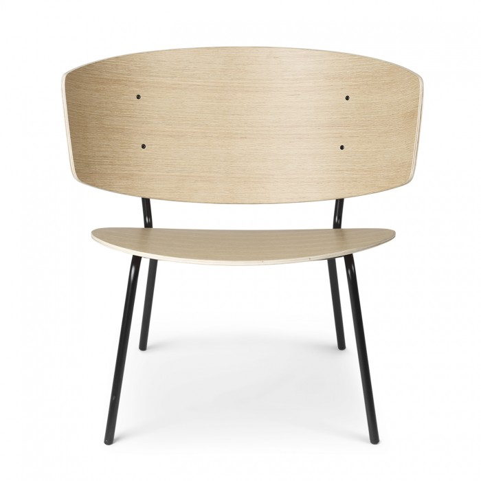 Herman lacquered lounge armchair - Ferm Living at COLONEL shop