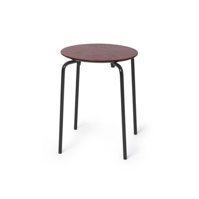 HERMAN stool bordeaux - Ferm Living at COLONEL shop
