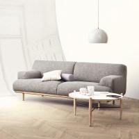MADISON sofa 2 seats 1/2 - BOLIA
