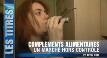 Les complements alimentaires sur TF1 Moncotefille