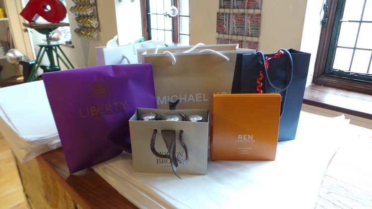 shopping sur Regent Street