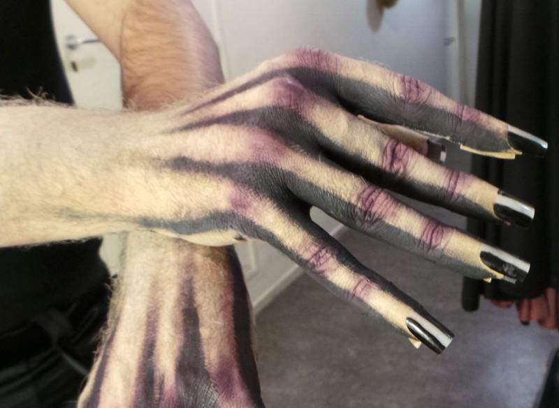 Bal des vampire Mogador - tuto makeup - transformation en vampire 4