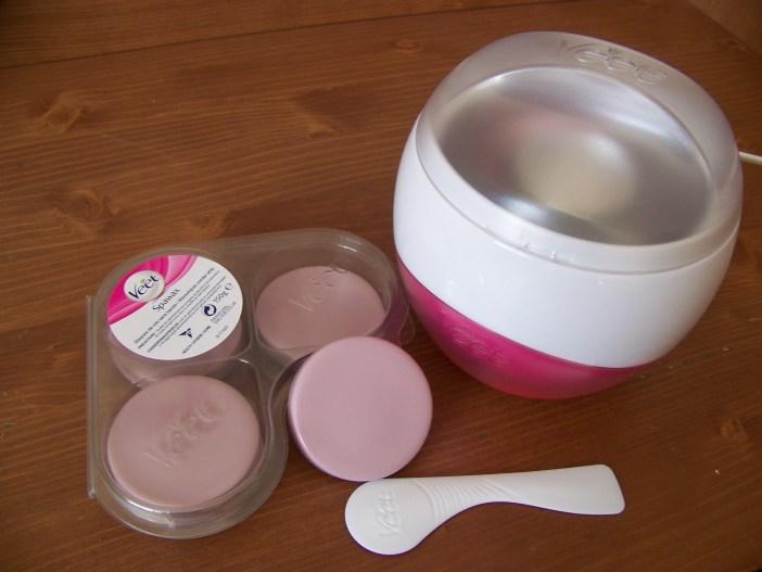 Veet Spawax chauffe-cire électrique