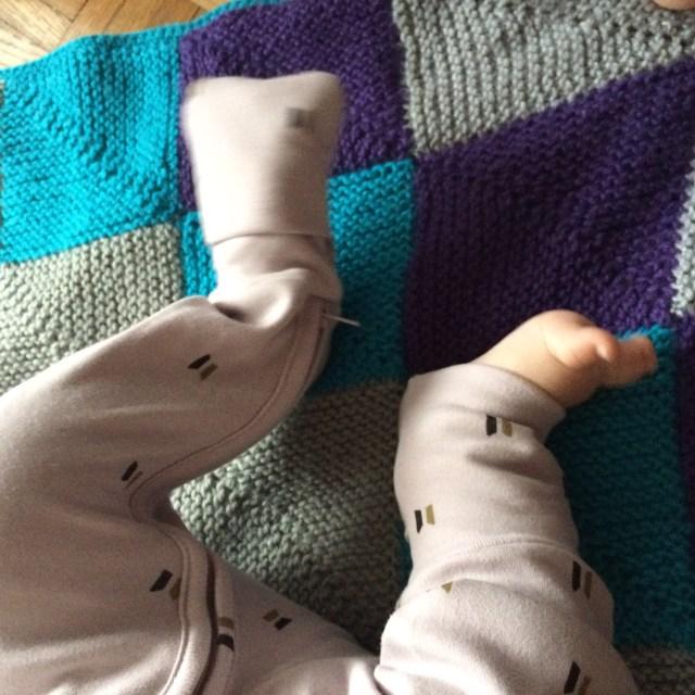 Les petits pieds qui s'agitent !