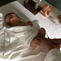 Cours de massage pour bébé à la thalasso de Carnac