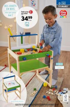Catalogue Lidl jouets en bois mars 2018 - page 2