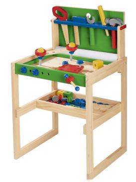 Etabli en bois pour enfant - Jouet Lidl