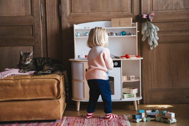 Cuisine en bois pour enfant - collection jeux en bois VertBaudet 2019