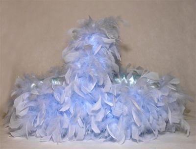 Otrişli Mavi Bebek Şeker Sepeti