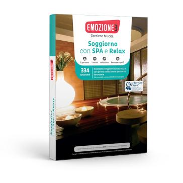 Soggiorno con Spa e Relax  Cofanetto regalo  Mondadori Store