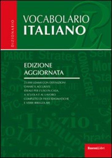 Vocabolario italiano Libro Mondadori Store