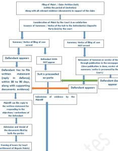 The flow chart is indicative  for general guidance only also process of trial civil cases suits in india litigation rh mondaq