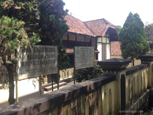 rumah tahanan Bung Hatta