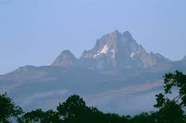 O Monte Quênia