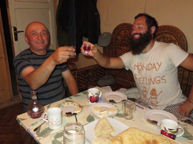 Georgian toasts