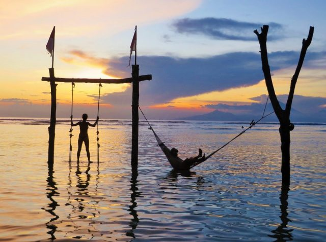 Gili Islands in Indonesia