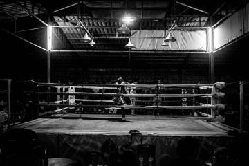 Kitti Muay Thai fighter in Koh Lanta