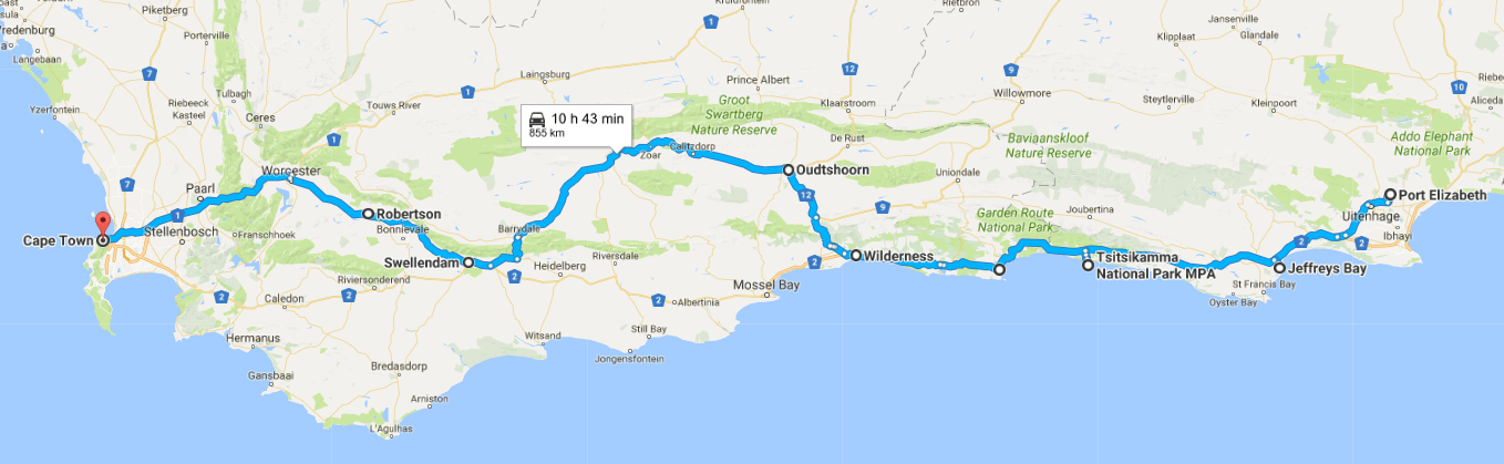 South Africa On A Motorhome Exploring The Famous Garden Route Monday Feelings
