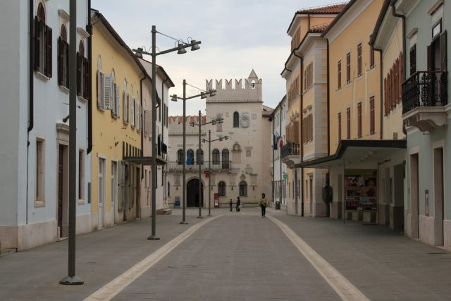 historical city centre of Koper, Slovenia