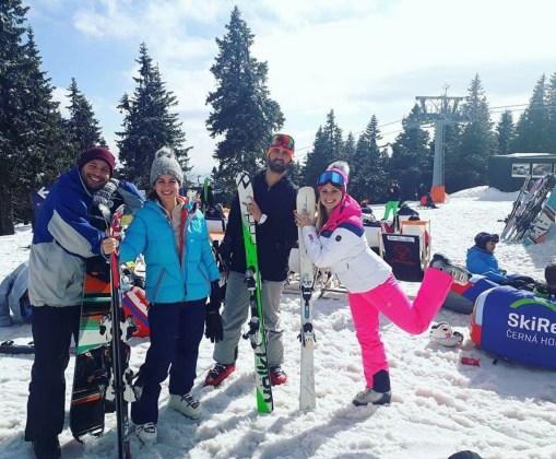 Esquiar perto de Praga