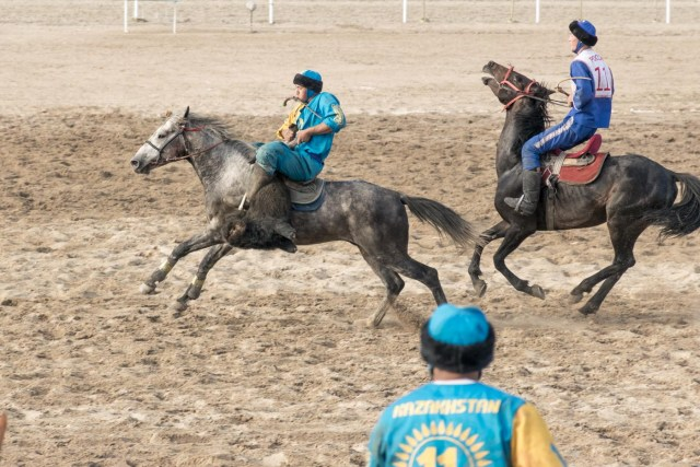 kok buru at the World Nomad Games