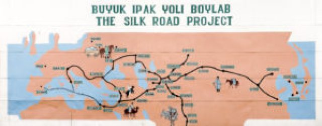 Map of the Silk Road Project
