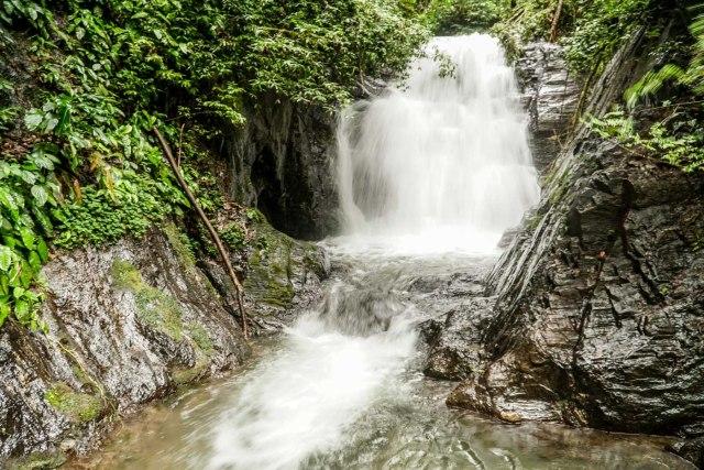 a waterfall in brazil